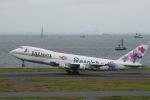 うたろうさんが、羽田空港で撮影したJALウェイズ 747-246Bの航空フォト(写真)