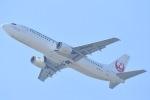 ANA&peachLOVEさんが、関西国際空港で撮影した日本トランスオーシャン航空 737-446の航空フォト(写真)
