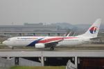 安芸あすかさんが、クアラルンプール国際空港で撮影したマレーシア航空 737-8FZの航空フォト(写真)
