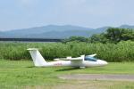 フォークリフト操縦士さんが、角田滑空場で撮影した日本個人所有 B4-PC11AFの航空フォト(写真)