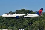 ミオミオさんが、福岡空港で撮影したデルタ航空 767-332/ERの航空フォト(写真)