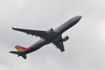VFRさんが、羽田空港で撮影したアシアナ航空 A330-323Xの航空フォト(写真)