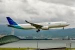 ふくそうじさんが、関西国際空港で撮影したガルーダ・インドネシア航空 A330-343Eの航空フォト(写真)