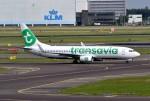 k-spotterさんが、アムステルダム・スキポール国際空港で撮影したトランサヴィア 737-8K2の航空フォト(写真)