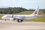 Jyunpei Ohyamaさんが、広島空港で撮影した日本航空 737-846の航空フォト(写真)