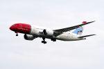 まいけるさんが、スワンナプーム国際空港で撮影したノルウェー・エアシャトル・ロングホール 787-8 Dreamlinerの航空フォト(写真)