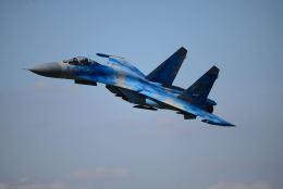 brasovさんが、フェアフォード空軍基地で撮影したウクライナ空軍 Su-27の航空フォト(飛行機 写真・画像)