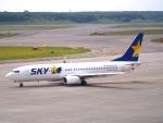 むらさめさんが、新千歳空港で撮影したスカイマーク 737-86Nの航空フォト(写真)