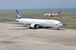 よんすけさんが、中部国際空港で撮影したキャセイパシフィック航空 777-367の航空フォト(写真)