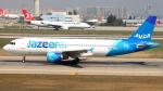 誘喜さんが、アタテュルク国際空港で撮影したジャジーラ・エアウェイズ A320-214の航空フォト(写真)