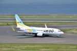 よんすけさんが、中部国際空港で撮影したAIR DO 737-781の航空フォト(写真)