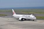 よんすけさんが、中部国際空港で撮影した日本航空 787-8 Dreamlinerの航空フォト(写真)