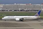 camelliaさんが、羽田空港で撮影したユナイテッド航空 787-9の航空フォト(写真)