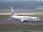 むらさめさんが、新千歳空港で撮影した日本航空 737-846の航空フォト(写真)