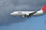 南国の防人さんが、那覇空港で撮影した日本トランスオーシャン航空 737-4Q3の航空フォト(飛行機 写真・画像)