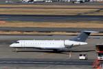 いっくんさんが、羽田空港で撮影したアメリカ企業所有 BD-700 Global Express/5000/6000の航空フォト(写真)