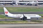 camelliaさんが、羽田空港で撮影した日本トランスオーシャン航空 737-8Q3の航空フォト(写真)