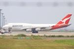 ぽっぽさんが、羽田空港で撮影したカンタス航空 747-438の航空フォト(写真)