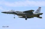 RINA-200さんが、小松空港で撮影したアメリカ空軍 F-15C-30-MC Eagleの航空フォト(写真)