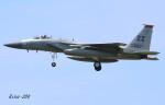 RINA-200さんが、小松空港で撮影したアメリカ空軍 F-15C-35-MC Eagleの航空フォト(写真)