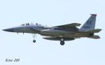 RINA-200さんが、小松空港で撮影したアメリカ空軍 F-15D-37-MC Eagleの航空フォト(写真)