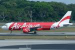 よっしぃさんが、シンガポール・チャンギ国際空港で撮影したエアアジア・インドネシア A320-216の航空フォト(写真)