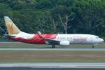 よっしぃさんが、シンガポール・チャンギ国際空港で撮影したエア・インディア・エクスプレス 737-8HGの航空フォト(写真)