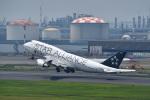 SATOSHI_THINさんが、羽田空港で撮影したタイ国際航空 747-4D7の航空フォト(写真)