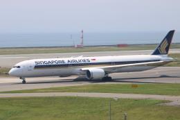 水月さんが、関西国際空港で撮影したシンガポール航空 787-10の航空フォト(写真)