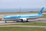 水月さんが、関西国際空港で撮影した大韓航空 787-9の航空フォト(写真)