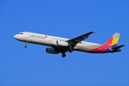 hidetsuguさんが、新千歳空港で撮影したアシアナ航空 A321-231の航空フォト(写真)