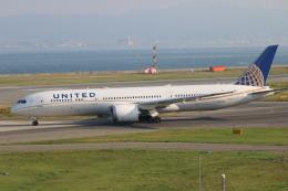 水月さんが、関西国際空港で撮影したユナイテッド航空 787-9の航空フォト(写真)