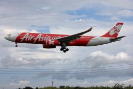 VEZEL 1500Xさんが、成田国際空港で撮影したインドネシア・エアアジア・エックス A330-343Xの航空フォト(写真)