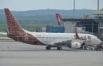 IL-18さんが、クアラルンプール国際空港で撮影したマリンド・エア 737-8GPの航空フォト(写真)