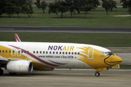 planetさんが、ドンムアン空港で撮影したノックエア 737-88Lの航空フォト(飛行機 写真・画像)