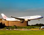 万華鏡AIRLINESさんが、成田国際空港で撮影したチャイナエアライン A330-302の航空フォト(写真)