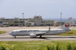 gーUーさんが、新石垣空港で撮影した日本航空 737-846の航空フォト(写真)
