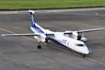 masa707さんが、宮崎空港で撮影したANAウイングス DHC-8-402Q Dash 8の航空フォト(写真)