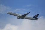 みるぽんたさんが、香港国際空港で撮影したエア・アスタナ 757-23Nの航空フォト(写真)