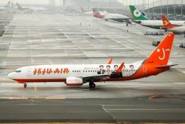 Jyunpei Ohyamaさんが、関西国際空港で撮影したチェジュ航空 737-82Rの航空フォト(飛行機 写真・画像)