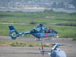 sp3混成軌道さんが、岡南飛行場で撮影した大阪府警察 EC135P1の航空フォト(写真)