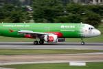 planetさんが、ドンムアン空港で撮影したエアアジア A320-216の航空フォト(写真)