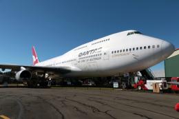 luneskyさんが、イラワラ・リージョナル空港で撮影したカンタス航空 747-438の航空フォト(飛行機 写真・画像)