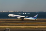 garrettさんが、羽田空港で撮影した全日空 777-381/ERの航空フォト(写真)