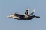 ファントム無礼さんが、横田基地で撮影したアメリカ海軍 EA-18G Growlerの航空フォト(写真)