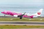 Ariesさんが、中部国際空港で撮影した日本トランスオーシャン航空 737-8Q3の航空フォト(写真)