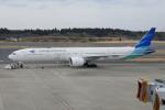 TUILANYAKSUさんが、成田国際空港で撮影したガルーダ・インドネシア航空 777-3U3/ERの航空フォト(写真)