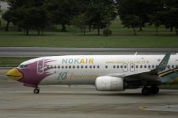 planetさんが、ドンムアン空港で撮影したノックエア 737-86Jの航空フォト(飛行機 写真・画像)