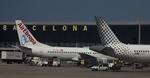 カヤノユウイチさんが、バルセロナ空港で撮影したブエリング航空 A320-214の航空フォト(飛行機 写真・画像)