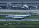 Leerzeichenさんが、羽田空港で撮影したウィルミントン・トラスト・カンパニー Gulfstream G650ER (G-VI)の航空フォト(写真)